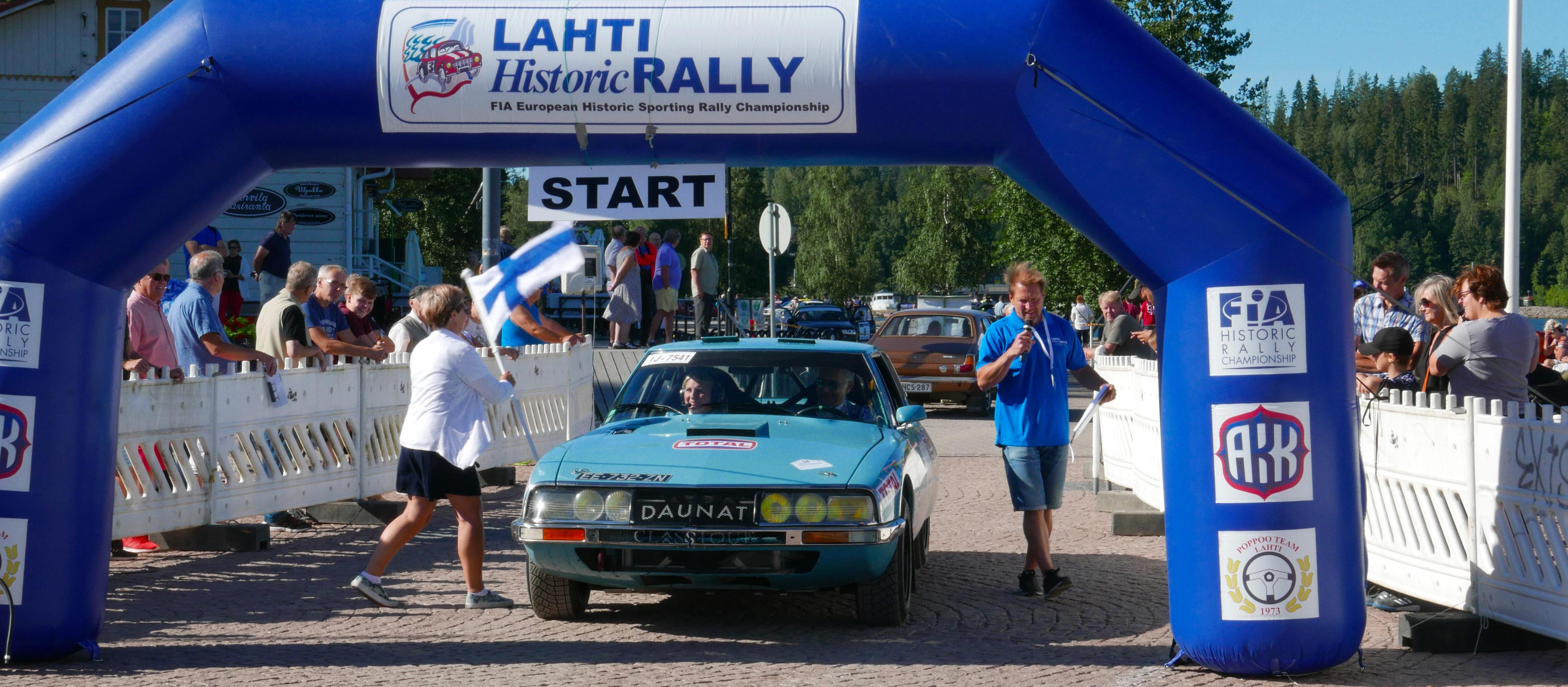 Lahti historic rally 2018, jump et glisse, découverte !