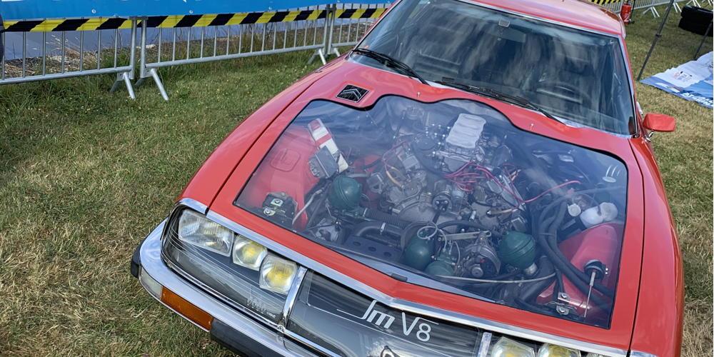 Citroën SM - Maserati V8 unique