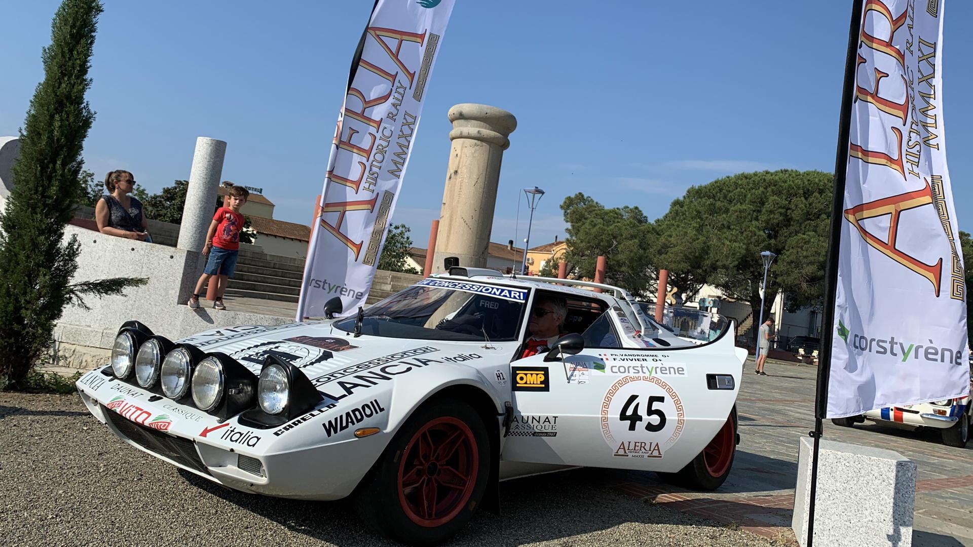 Aleria historic rally 2021
