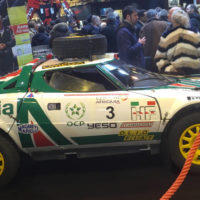 Lancia Stratos Safari - Reconstruction à l'identique